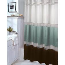 Chocolate Brown Shower Curtain Scintillating Aqua And Brown Shower Curtain Photos Best