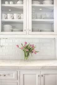 white tile kitchen backsplash beautiful white tile backsplash best 25 white tile
