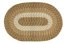 Round Straw Rug by Salem Nylon Straw Braided Rug Curtain U0026 Bath Outlet
