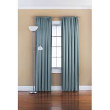 Livingroom Curtains Mainstays Chevron Polyester Cotton Curtain With Bonus Panel