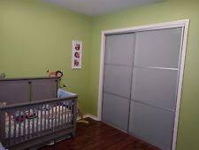 Truporte Closet Doors Truporte Grand Sliding Closet Bypass Door 48 X 80 3 Lite Frosted
