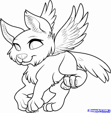 wolves with wings coloring pages coloring home