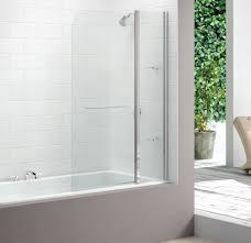 bathroom excellent bathtub screen reviews 53 corner bathtub and ergonomic bathtub shower screen canada 6 merlyn panel curved bath bathroom decor