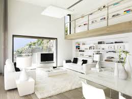 white living room ideas for sleek and clean look living room