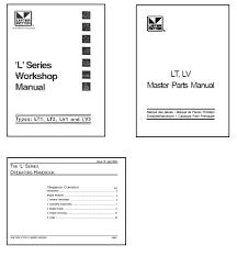 lister manual de motor lt1 lt2 lv1 lv2 3 piezas taller manuales