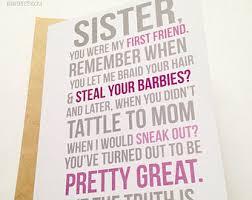 funny sister birthday card u2013 gangcraft net