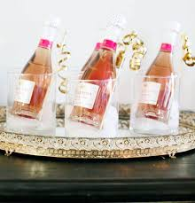 wedding guest favors small jars for wedding favors mini bottles of chagne or wine