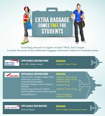 guide to extra baggage for students