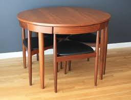 Mid Century Modern Dining Room Furniture by Mid Century Modern Danish Hans Olsen Teak Dining Table With Chairs