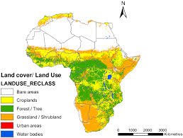 map 4 africa land cover land use map of africa modified from defourny et al