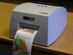 primera lx400 colour label printer in action youtube