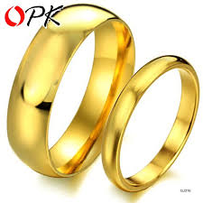 gold rings price images Tengyi price for 2 pcs factory jewelry gold glossy titanium steel jpg