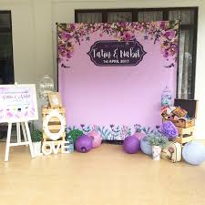 wedding backdrop malaysia ideasbyfarah