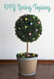 Flower Topiary Diy Topiary Tree Decor For Spring Consumer Crafts