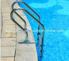 Swimming Pool Handrails China Concrete Swimming Pool 4 Steps Stainless Steel Ladder
