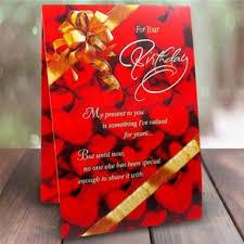 birthday greeting card birthday cards for her in delhi