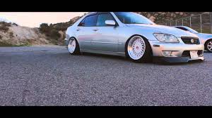 lexus is300 silver slammed lexus is300