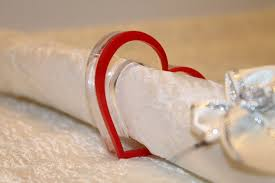 Valentines Day Table Decor Red Heart Napkin Rings Napkin Ring Holders Valentine U0027s Day Table