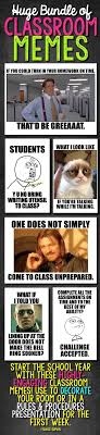 Funny Meme Posters - classroom memes posters editable back to school class rules