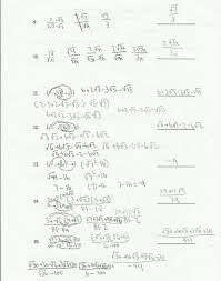 printables simplifying radical expressions worksheet answers