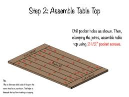 Plans For Building A Heavy Duty Picnic Table by Diy Farmhouse Table Free Plans Rogue Engineer