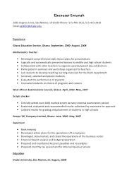 job resume housekeeping resume samples list of housekeeping