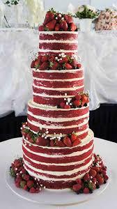 wedding cake no icing 40 fall wedding ideas we actually like wedding wedding