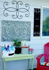 Garden Wall Decor Ideas Outdoor Wall Art Diy Today U0027s Creative Life