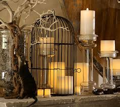 Pottery Barn Bat Birdcage Candlelight Centerpiece Pottery Barn