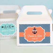personalized boxes personalized bridal mini gable favor boxes bridal shower gift