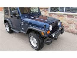 jeep 2001 2001 jeep wrangler for sale classiccars com cc 1041824