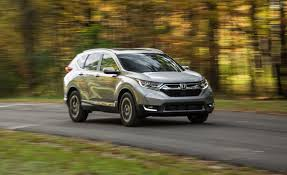 Honda Crv Diesel Usa 2017 Honda Cr V In Depth Model Review Car And Driver