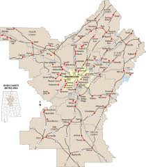 Atlanta Metro Area Map by Reinventing Our Community Can Birmingham Metro Area Work Together