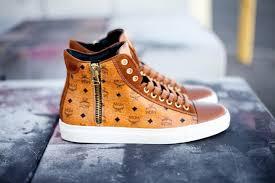mcm designer michael michalsky mcm nomad iii cognac sole collector