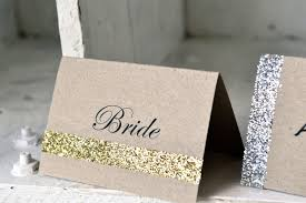 unique wedding card place card ideas