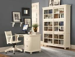 Cream Desk With Hutch Hanna 4 Piece Desk And Hutch In Black Or White Finish By