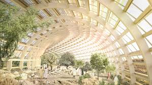 Sharpe Interior Systems Grimshaw And Arup Bring The World U0027s Largest Botanical Park To Oman