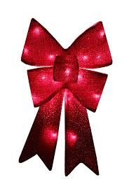 battery operated lighted christmas bows 28 red sparkly lighted christmas bow decoration red lights