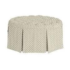 Kravet Ottoman Kravet Holyoke Ottoman Skirted Slipcovers Upholstery