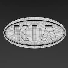 kia logo kia logo by niosdark 3docean