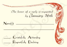How To Design A Invitation Card Rsvp Ideas For Wedding Invitations Iidaemilia Com