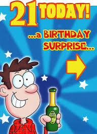 funny 21st birthday quotes and jokes