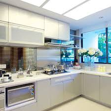 Grey Gloss Kitchen Cabinets by Online Get Cheap Gloss Kitchen Doors Aliexpress Com Alibaba Group