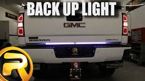 how to install access back up led tailgate light bar youtube