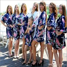bridesmaid satin robes 2018 2015 bathrobe silk wedding robes satin robes for womens