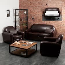 canapé et fauteuil cuir canapé 3 places convertible 2 fauteuils clubs