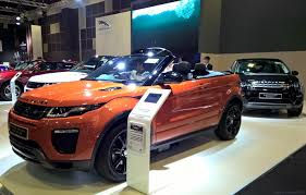 kereta range rover singapore motorshow 2017 had shiny new metal on display u2013 drive
