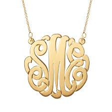 monogram necklaces vermeil monogram necklace s addiction