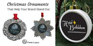 help with christmas custom christmas ornaments help make your brand stand out