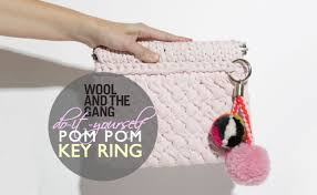 fashion key rings images Diy make your own wool pom pom bag charm or key ring inhabitat jpg